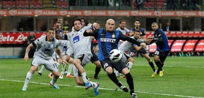 Tommaso Rocchi gol Inter-Atalanta
