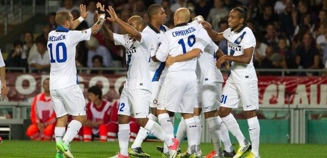 Torino-Inter esultanza