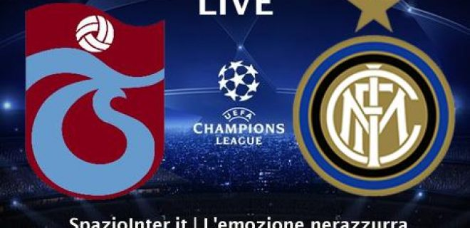 Trabzonspor-Inter LIVE