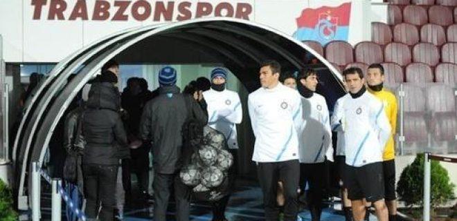 Trabzonspor-Inter rifinitura