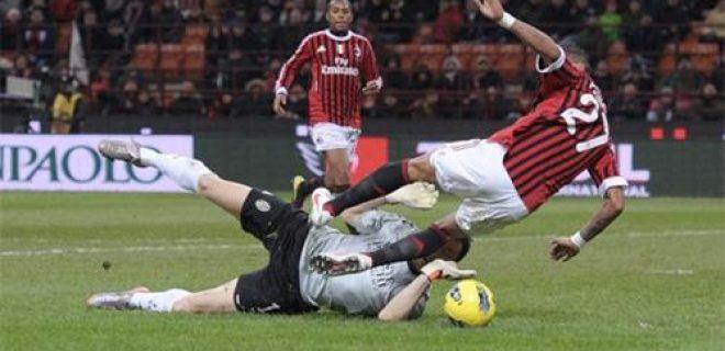 Tuffo Boateng Milan-Siena