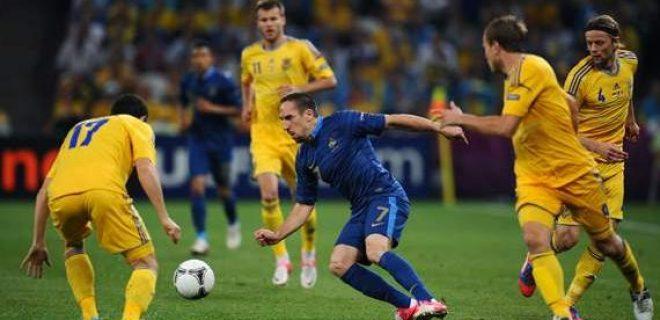 Ucraina-Francia 0-2