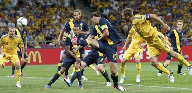 Ucraina-Svezia 2-1 Sheva Ibra