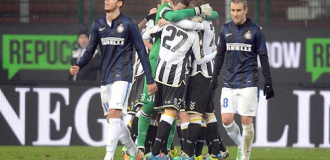 Udinese-Inter Tim Cup delusione