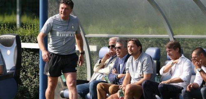 Walter Mazzarri Inter-Lugano