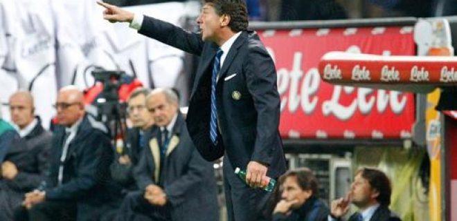 Walter Mazzarri Inter-Roma