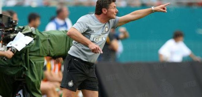 Walter Mazzarri Inter vs Juventus