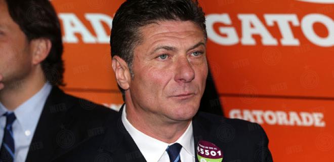 Walter Mazzarri Milan-Inter