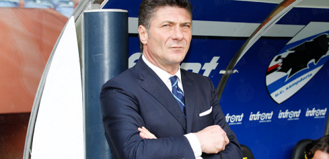 Walter Mazzarri Sampdoria-Inter