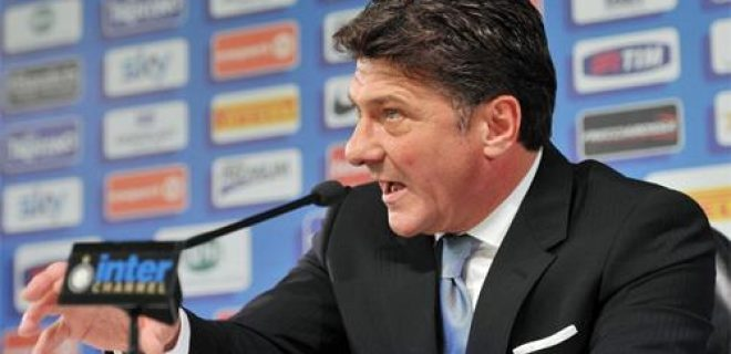 Walter Mazzarri conferenza stampa Inter