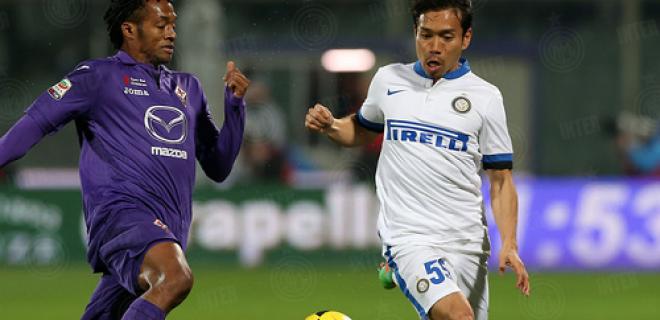 Yuto Nagatomo Fiorentina-Inter