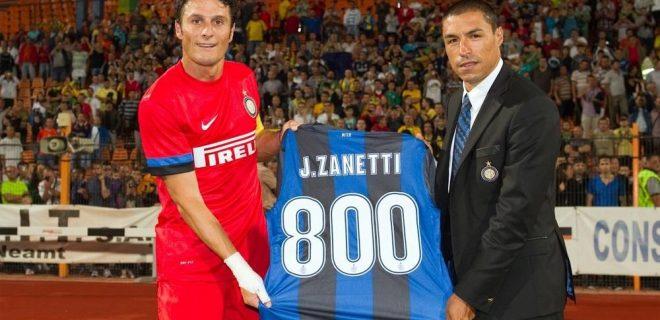 Zanetti 800 presenze