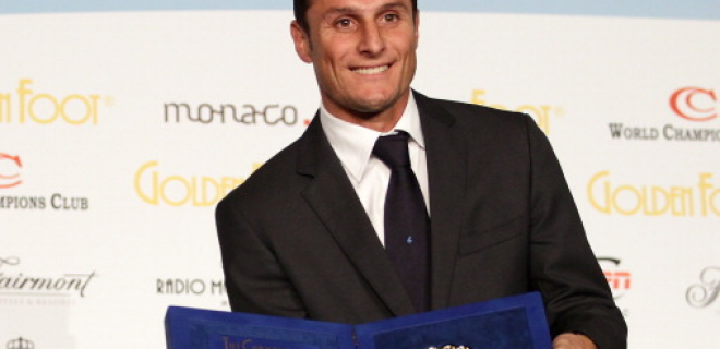 Zanetti Golden Foot 2011