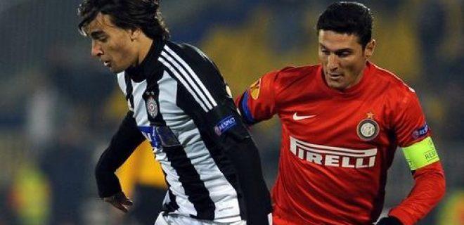 Zanetti Markovic Partizan-Inter