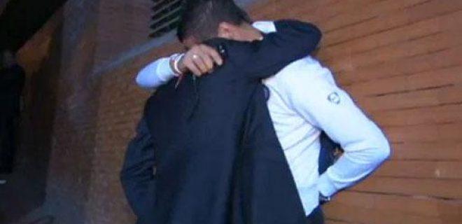 abbraccio Materazzi Mourinho