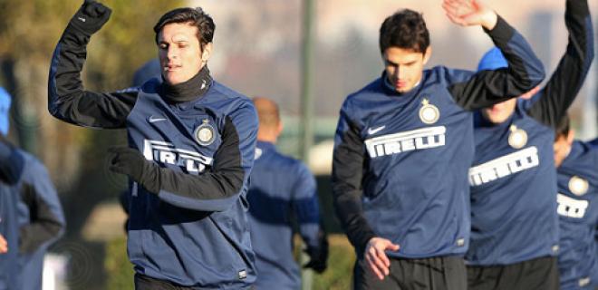 allenamento Inter