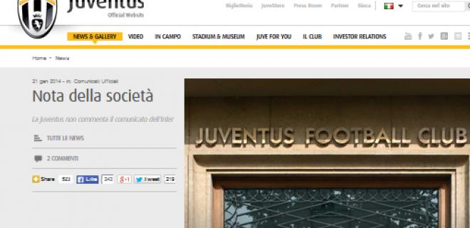 comunicato Juventus