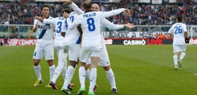 esultanza Catania-Inter squadra