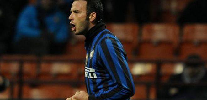 esultanza Pazzini Inter-Fiorentina