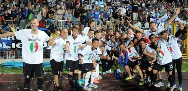 finale Primavera Inter-Lazio festeggiamenti