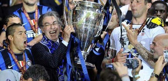 moratti champions league