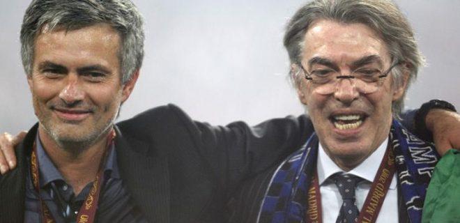 Mourinho Moratti Madrid finale
