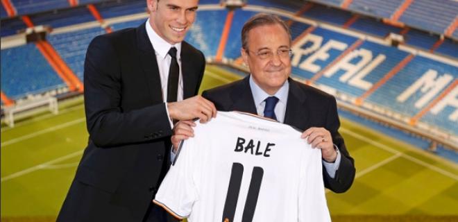 presentazione Bale Real Madrid