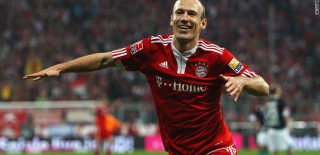 Arjen Robben - Bayern Monaco