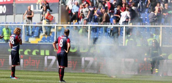 Genoa-Siena sospensione